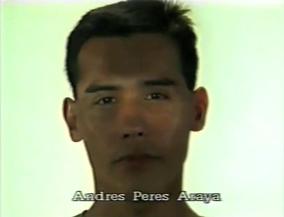 Andres Peres Araya ⓒ W. Schroeter, 1985.