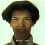 Baya Belal ⓒ W. Schroeter, 1985.
