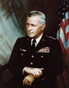 Creighton W. Abrams.ⓒ  H. E. Abrams