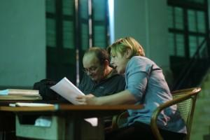Georges Bigot et Delphine Cottu ⓒ Arno Lafontaine