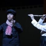 Saloth Sâr (Chea Ravy) et Sihanouk (San Marady). ⓒ Michèle Laurent, 2013.