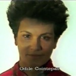 Odile Cointepas ⓒ W. Schroeter, 1985.