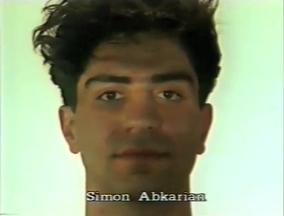 Simon Abkarian ⓒ W. Schroeter, 1985.