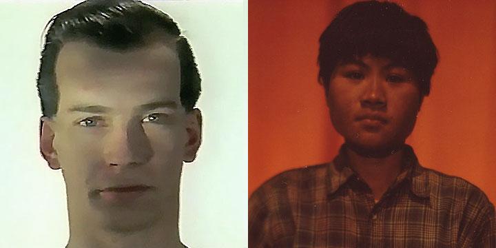 À gauche : Fabien Gargiulo ⓒ W. Schroeter, 1985. À droite : Mao Sy ⓒ Arno Lafontaine, 2013.Ce rôle a été interprété par Fabien Gargiulo en 1985 puis par Mao Sy en 2013.