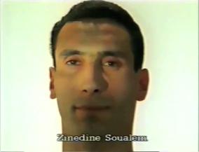 Zinedine Soualem ⓒ W. Schroeter, 1985.