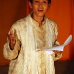 Sihanouk (San Marady) Répétition à Battambang, Août 2010. ⓒ Everest Canto.