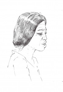 Madame Lamné ⓒ Marie-Ange Barbet, 2013.