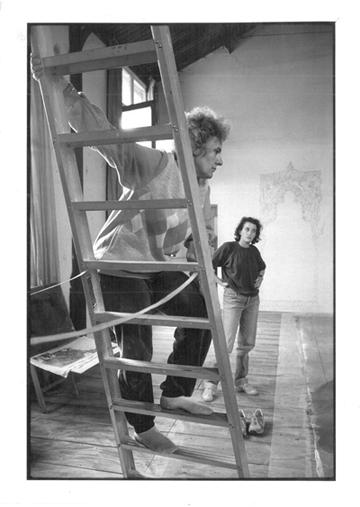 Ariane Mnouchkine et Sophie Moscoso ⓒ Martine Franck, 1985.