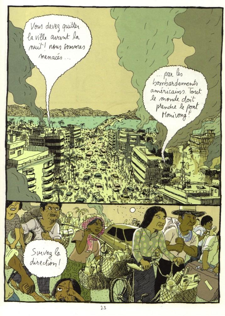 """Images extraites de """"L'année du lièvre"""", par Tian, collection Bayou © Gallimard 2011."""