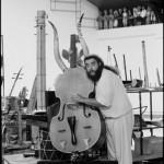 Jean-Jacques Lemêtre, compositeur et musicien ⓒ Martine Franck, Magnum photos.