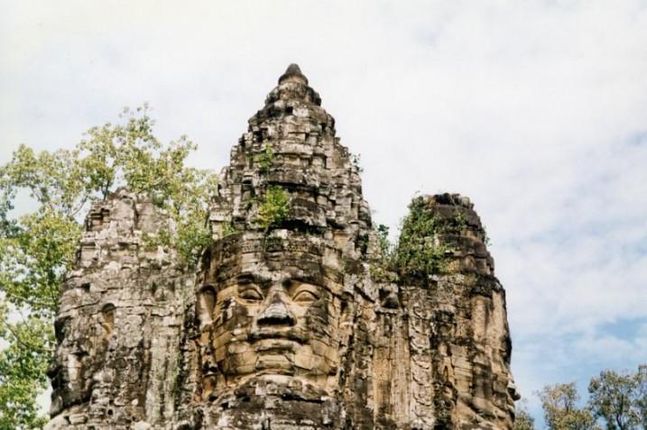Temple d'Angkor Vat ⓒ Isabelle Van Poorten.