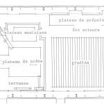 Plan pour les représentations de Barcelone, 1986.