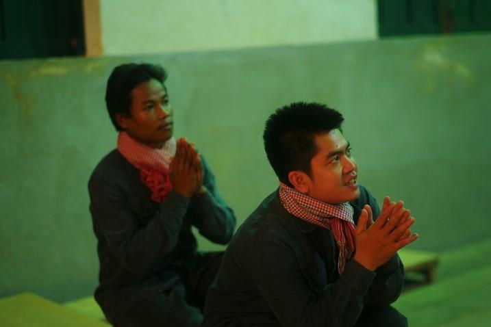 Norng Chantha et Sim Sophal, Battambang ⓒ Arno Lafontaine, 2013.