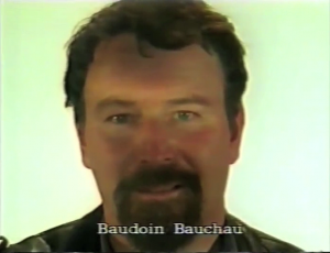 Baudoin Bauchau  ⓒ W. Schroeter, 1985.