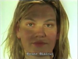 Béate Blasius  ⓒ W. Schroeter, 1985.