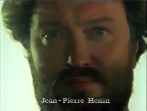 Jean-Pierre Hénin  ⓒ W. Schroeter, 1985.