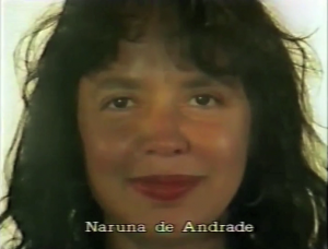 Naruna de Andrade ⓒ W. Schroeter, 1985.