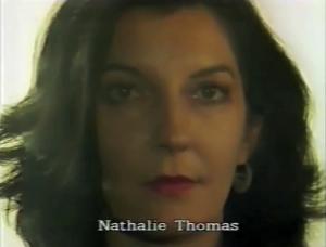 Nathalie Thomas (Costumes)  ⓒ W. Schroeter, 1985.