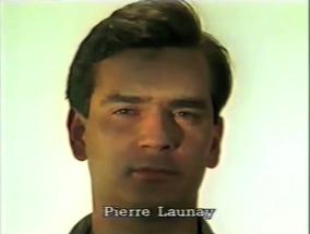 Pierre Launay, musicien  ⓒ W. Schroeter, 1985.
