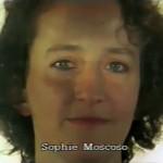Sophie Moscoso, assistante à la mise en scène  ⓒ W. Schroeter, 1985.