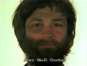 Jean-Noël Cordier ⓒ W. Schroeter, 1985.