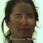 Clémentine Yelnik ⓒ W. Schroeter, 1985.