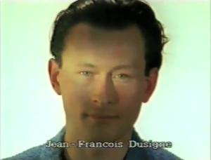 Jean-François Dusigne ⓒ W. Schroeter, 1985.